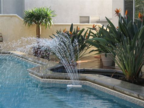 inground pool fountains pool fountains spray fountains secard pools since 1958