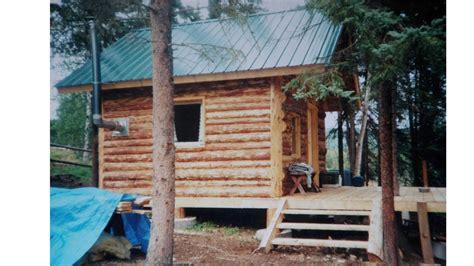 log cabine alaska log cabin start to finish
