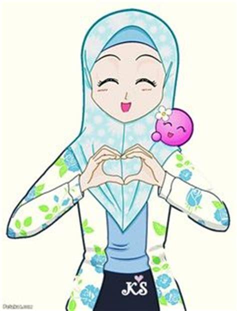 anime hijab gaul chibi muslimah 1 by taj92 on deviantart muslim