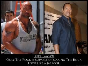 dwayne johnson vorher nachher strength fighter the rock steroids