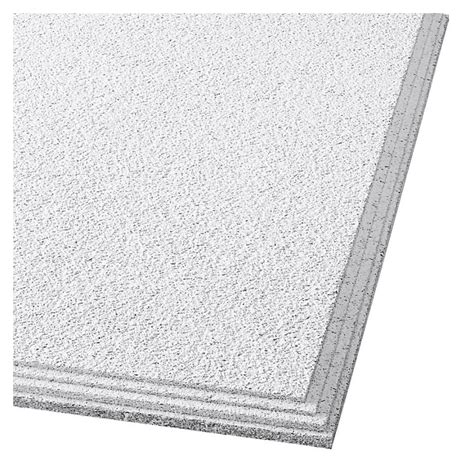 Humiguard Ceiling Tiles shop armstrong 24 quot x 24 quot cirrus profile classic step ceiling tile panel with humiguard plus at