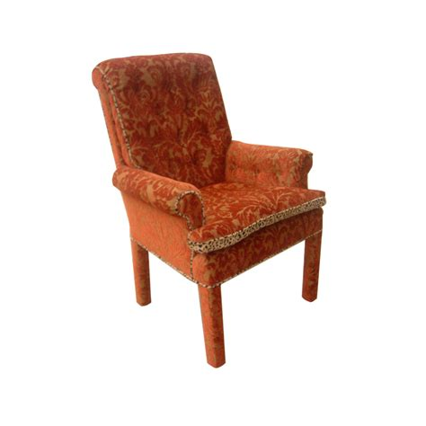 armchair and footstool vintage traditional lounge armchair and footstool ottoman price reduced ebay