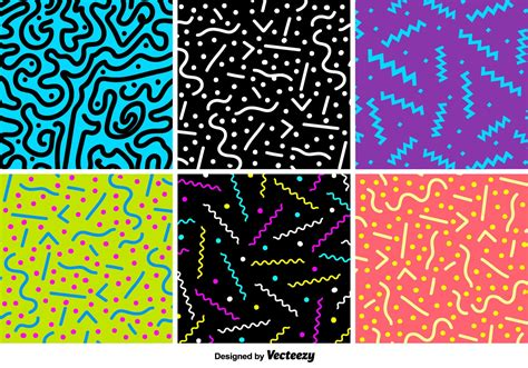 video on pattern retro party vector patterns download free vector art