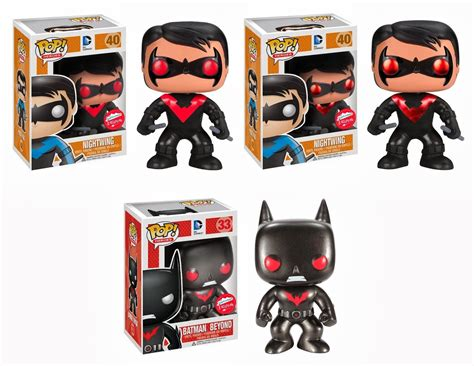 Funko Pop Heroes Nightwing funko pop batman new 52 nightwing metallic batman
