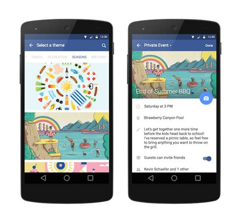 facebook themes in mobile facebook is now treating public and private events differently