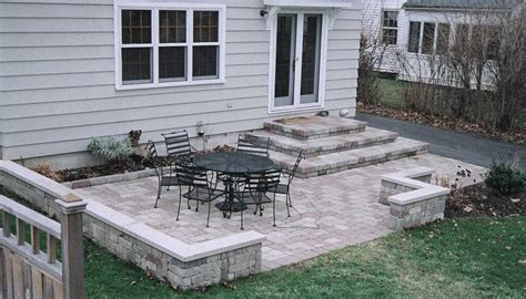 Patio Designs With Steps Patio Designs This Patio Design Features Stacked