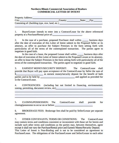 Non Binding Letter Of Intent To Purchase Business 11 Letter Of Intent Templates Free Sle Exle