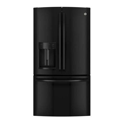ge 27 8 cu ft french door refrigerator in slate ge 27 8 cu ft french door refrigerator in black