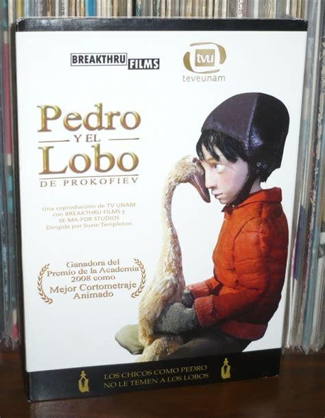 pedro y el lobo 8479044896 pedro y el lobo dvd tv unam 250 00 en mercado libre