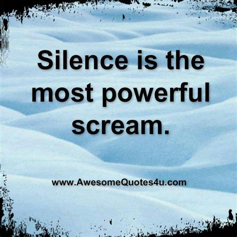 the power of silence power of silence quotes quotesgram