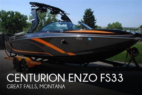 pontoon boats for sale great falls montana for sale used 2015 centurion enzo fs33 in great falls