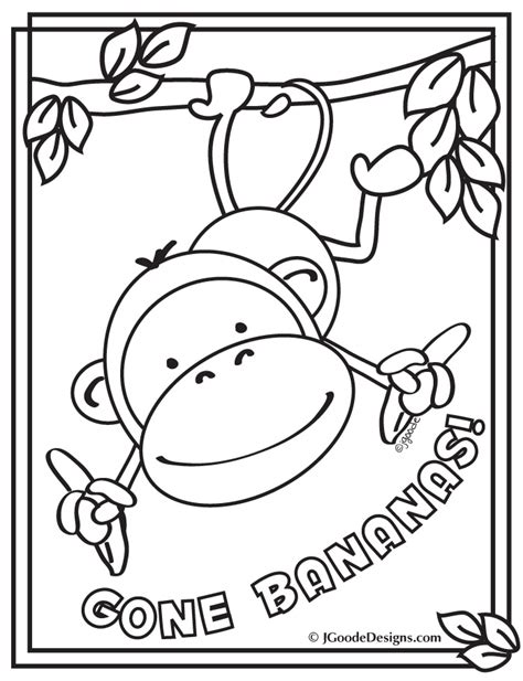 free coloring pages jungle theme 17 best images about rainforest jungle safari theme on