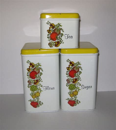 129 best yellow canisters images on pinterest vintage kitchen 157 best cannisters and tins images on pinterest vintage