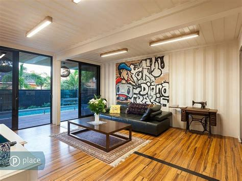 Shipping Container Homes Interior Design Home Built From 31 Shipping Containers In Australia
