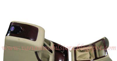 Paket Cover Handle Outer Handel Kijang New Efi 97 2000 2003 console box kijang 2003 coklat wood variasi mobil