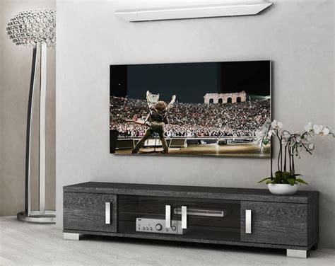 Grey Living Room Units Venicia Grey Birch Collection Modern 4 Door Tv Cabinet