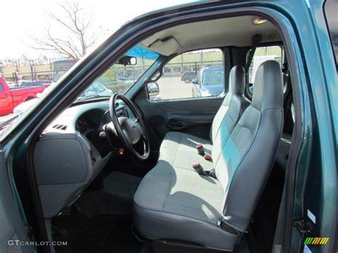 medium graphite interior 1997 ford f150 xl extended cab