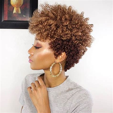 best hair style for black women that are thinning at the crown 35 best short hairstyles for black women 2017 short