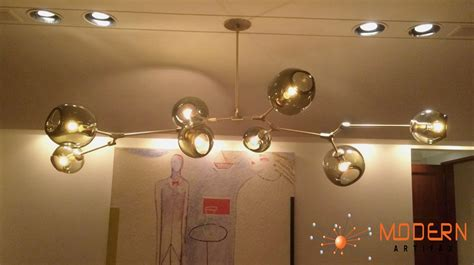 Glass Globes For Chandeliers Branching Bubble Modern Chandelier