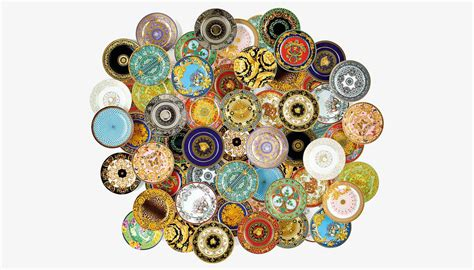collection of 25 the versace x rosenthal tableware collection celebrates 25