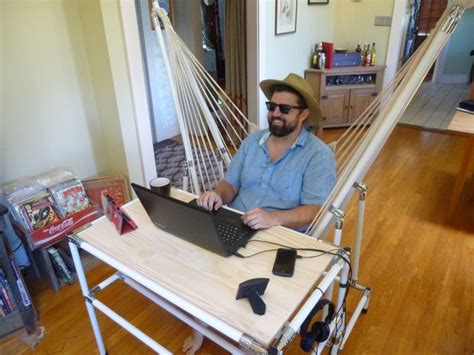 leg hammock for desk the hammock desk