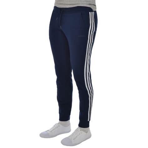 Adidas Slimfit Coklat adidas neo mens 3 stripe track pant slim fit