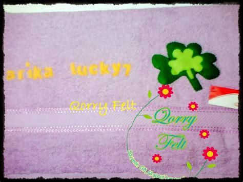 Boneka Gantungan Pokeball Isi 6 Boneka Hadiah Ulang Tahun Wisuda handuk nama lucky 7 quot hadiah untuk sahabat