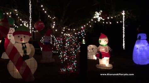sarasota christmas lights tour 2017 florida floryda