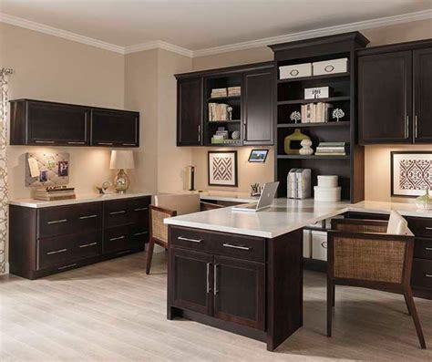 kitchen office cabinets office cabinets in cherry finish cabinetry