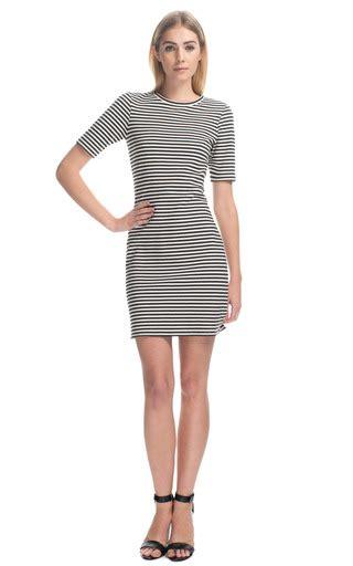 Elsa Striple elsa stripe dress by tibi moda operandi