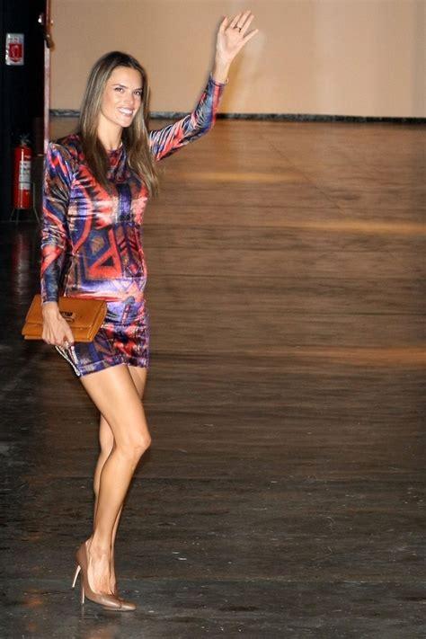 Lets Appreciate The Of Alessandra Ambrosio Hollyscoop by More Pics Of Alessandra Ambrosio Mini Dress 7 Of 15