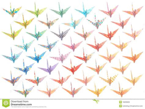 Origami Crane Pattern - origami cranes pattern royalty free stock image image