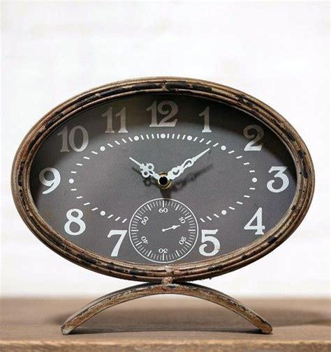 Clocks Decor Objects Table Clocks Small Table Clock Small Decorative Desk Clocks