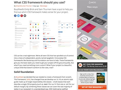 quiz css layout popular design news of the week january 16 2017