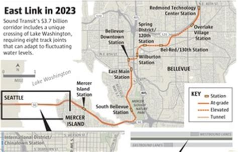 East Link Light Rail 20 million ok d to finish east link light rail design the seattle times