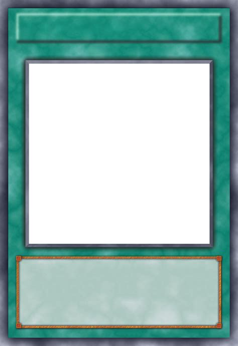 Blank Yugioh Card Template by Spell Card Template By Grezar On Deviantart