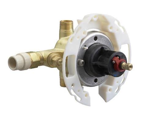 install kohler k304 valve kohler k 304 cs na rite temp valve with stops cpvc inlets