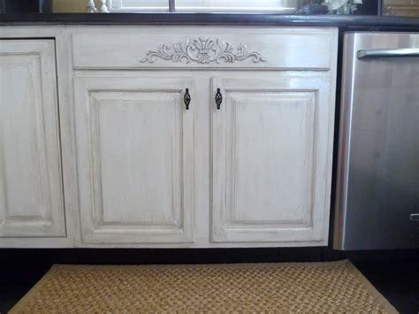 How To Distress White Kitchen Cabinets | our fifth house distressed kitchen cabinets how to