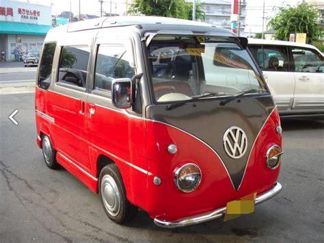 subaru van subaru sambar conversion looks like a vw love van for