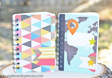 How To Make Handmade Notebooks - 15 back to school projects diy ideas