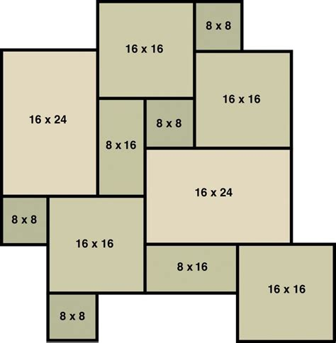pattern tile calculator silver travertine versailles pattern tumbled pavers tile
