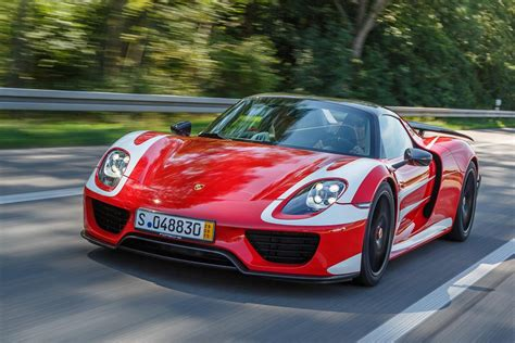 new porsche 918 mark webber picks up brand new porsche 918 spyder gtspirit