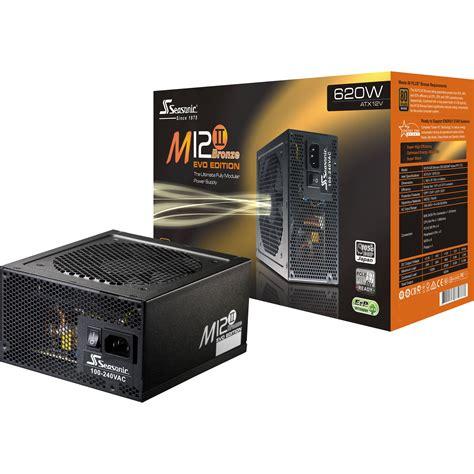 seasonic electronics m12ii bronze evo edition ss 620gm2 b h