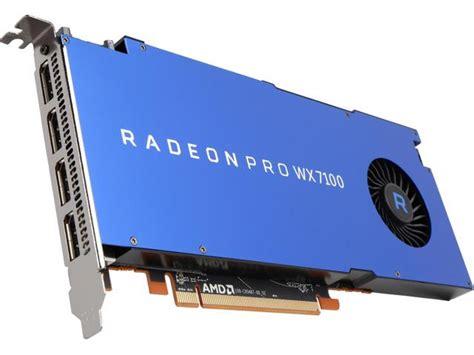 Amd Radeon Pro Wx 7100 amd radeon pro wx 7100 o placa ce nu i de joaca