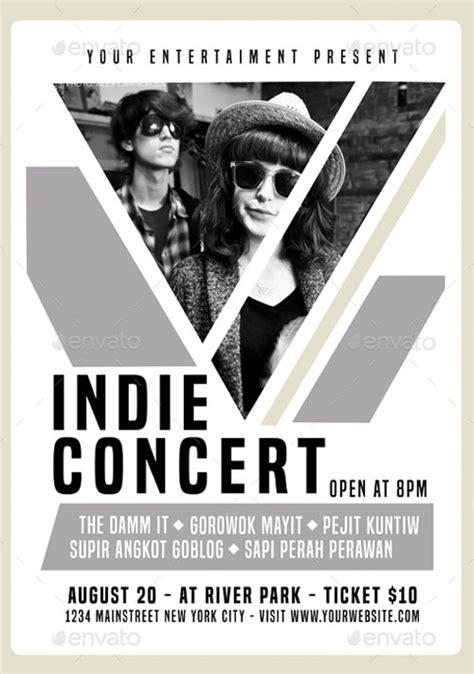Download The Indie Concert Flyer Poster Template For Photoshop Concert Flyer Template