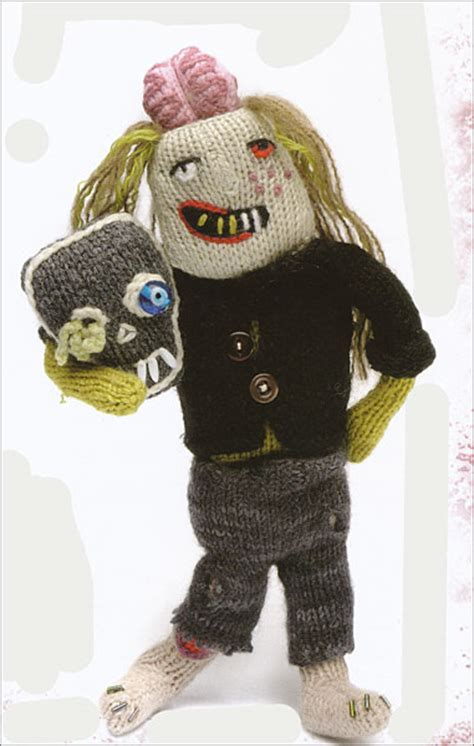 knitting pattern zombie knit your own zombie from knitpicks com knitting by fiona