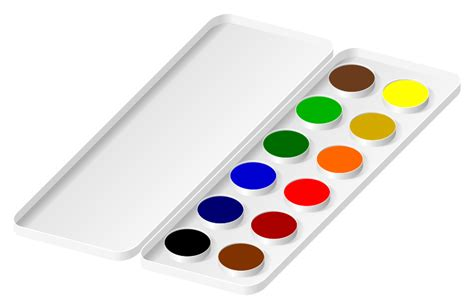 clipart watercolors