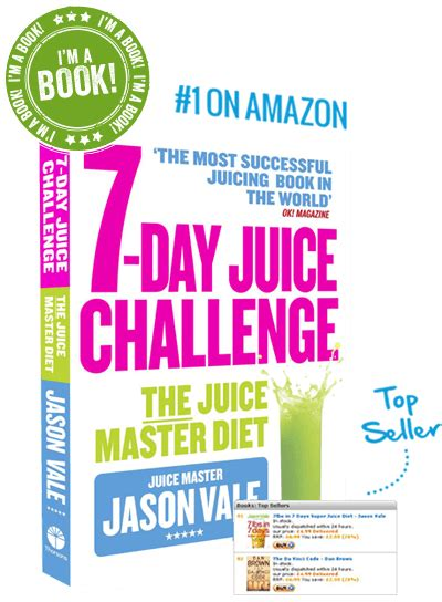 Jason Vale 7 Day Detox by 7lbs In 7 Days Juice Diet Juice Master