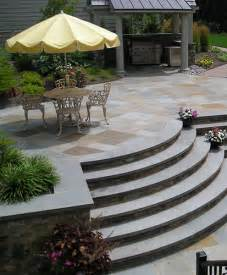 Patio Stairs Design Curved Outdoor Stairs By Joanne Kostecky Garden Design Inc Flickr Photo