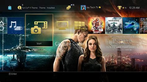 ps4 themes youtube ps4 themes update 2 15 2015 youtube